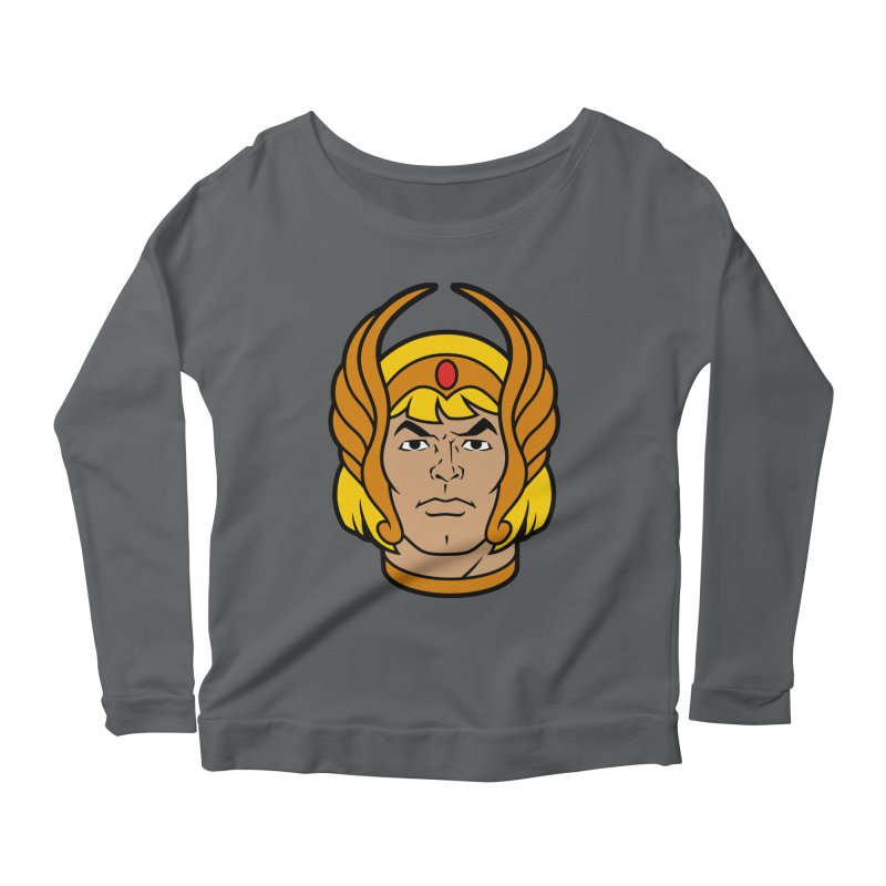 He-Ra Women's Longsleeve T-Shirt by Anthony Petrie Print + Product Design