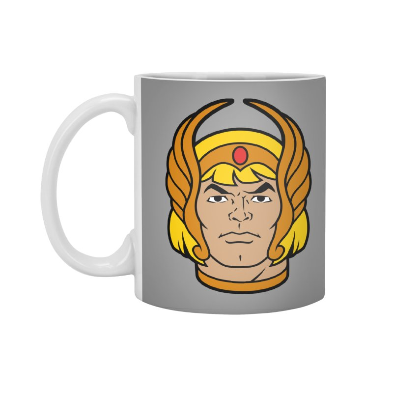 He-Ra Accessories Standard Mug by Anthony Petrie Print + Product Design