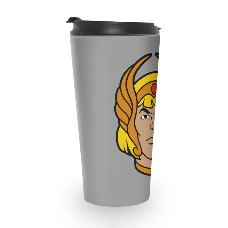 He-Ra Accessories Travel Mug by Anthony Petrie Print + Product Design