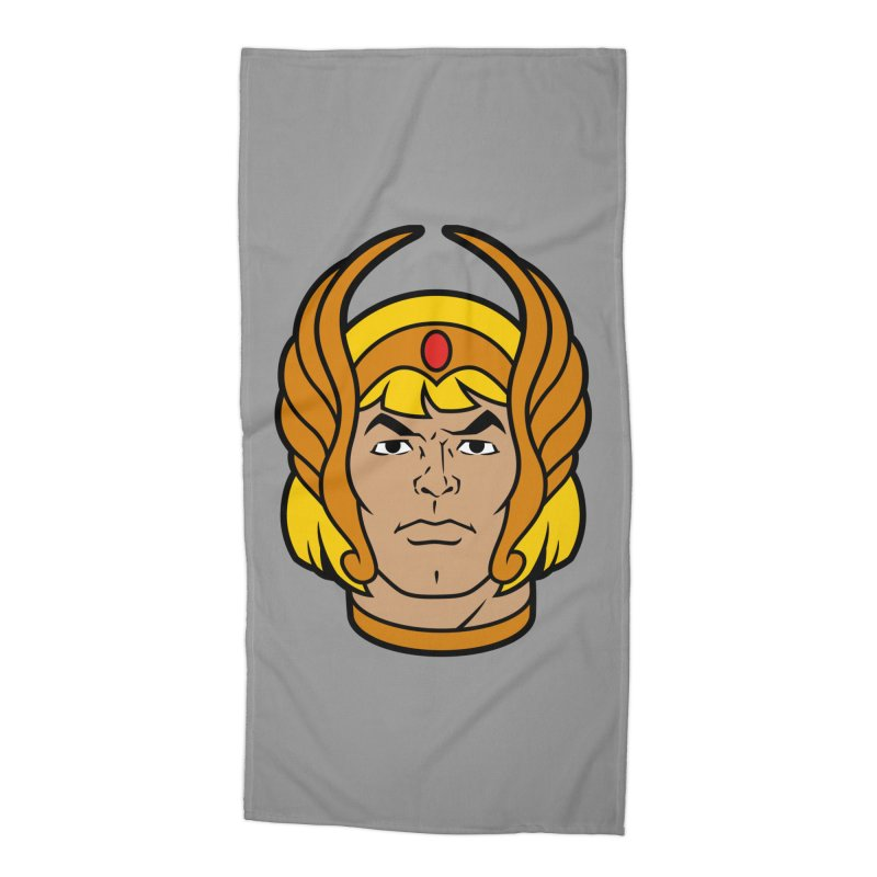 He-Ra Accessories Beach Towel by Anthony Petrie Print + Product Design