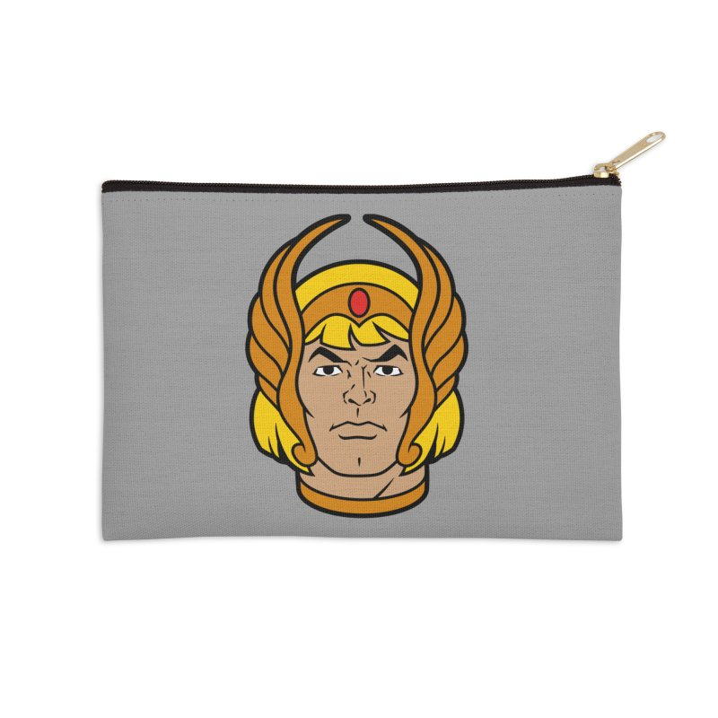 He-Ra Accessories Zip Pouch by Anthony Petrie Print + Product Design