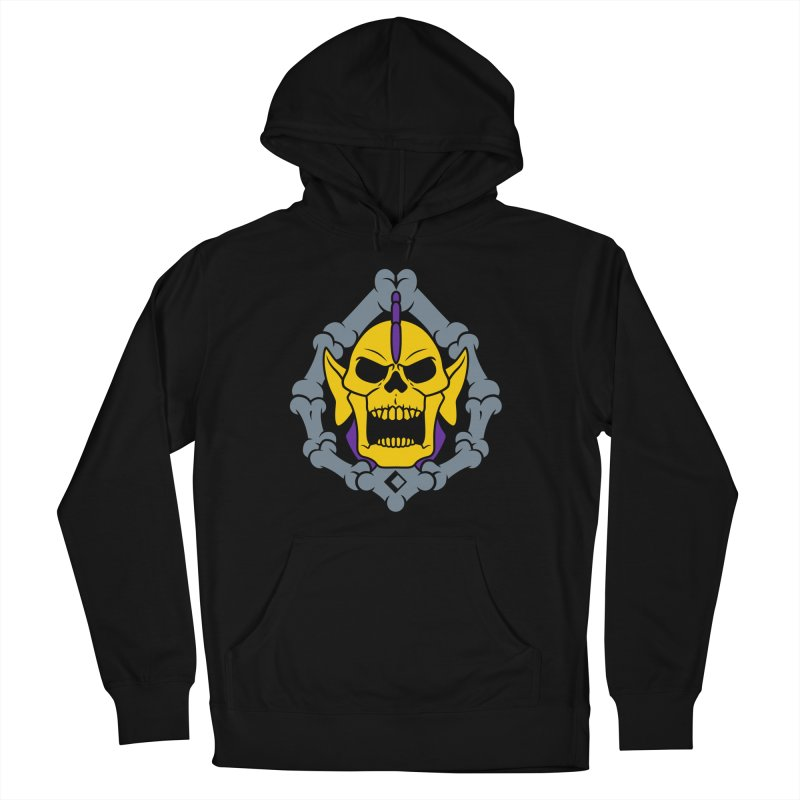 Skeldak Men's French Terry Pullover Hoody by Anthony Petrie Print + Product Design