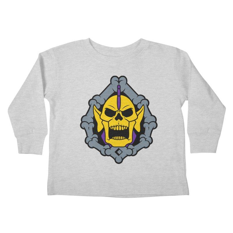 Skeldak Kids Toddler Longsleeve T-Shirt by Anthony Petrie Print + Product Design