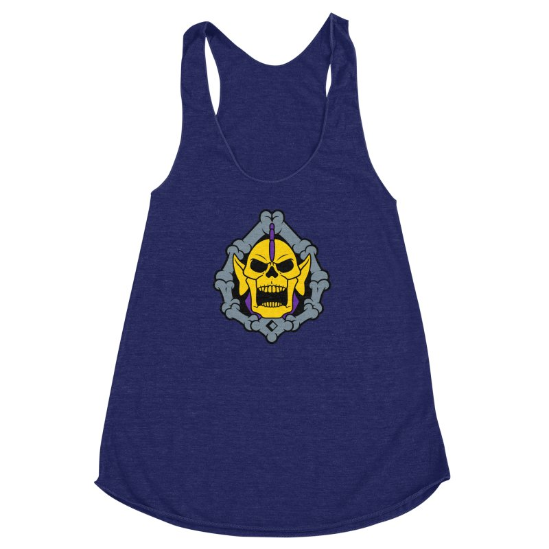 Skeldak Women's Racerback Triblend Tank by Anthony Petrie Print + Product Design