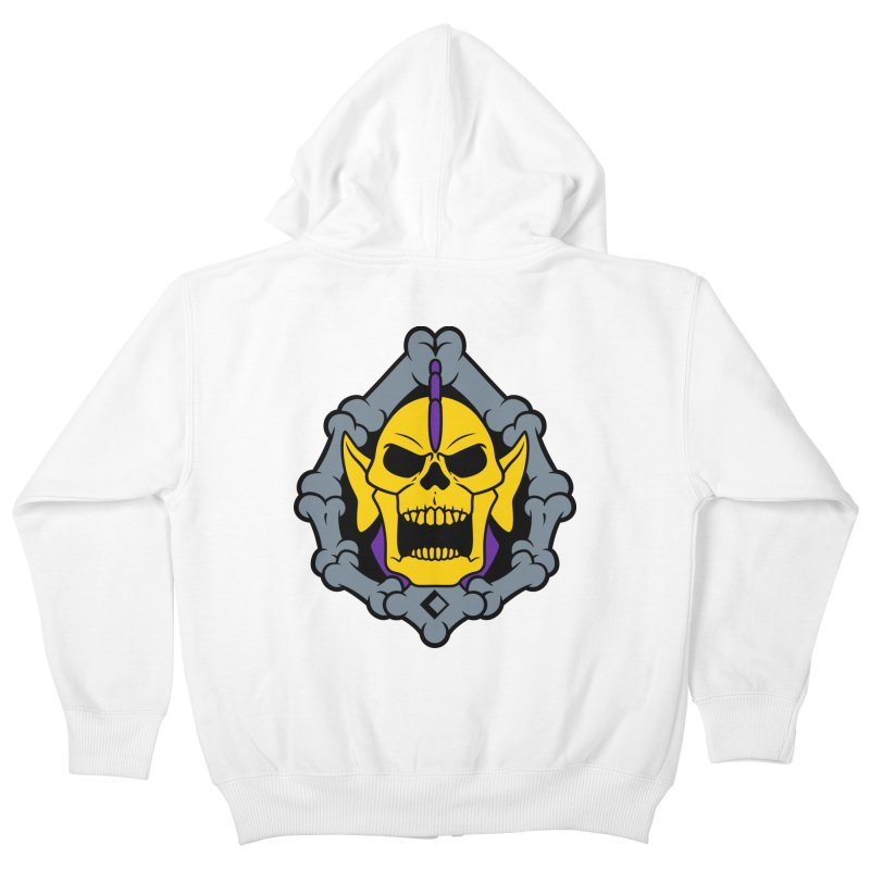 Skeldak Kids Zip-Up Hoody by Anthony Petrie