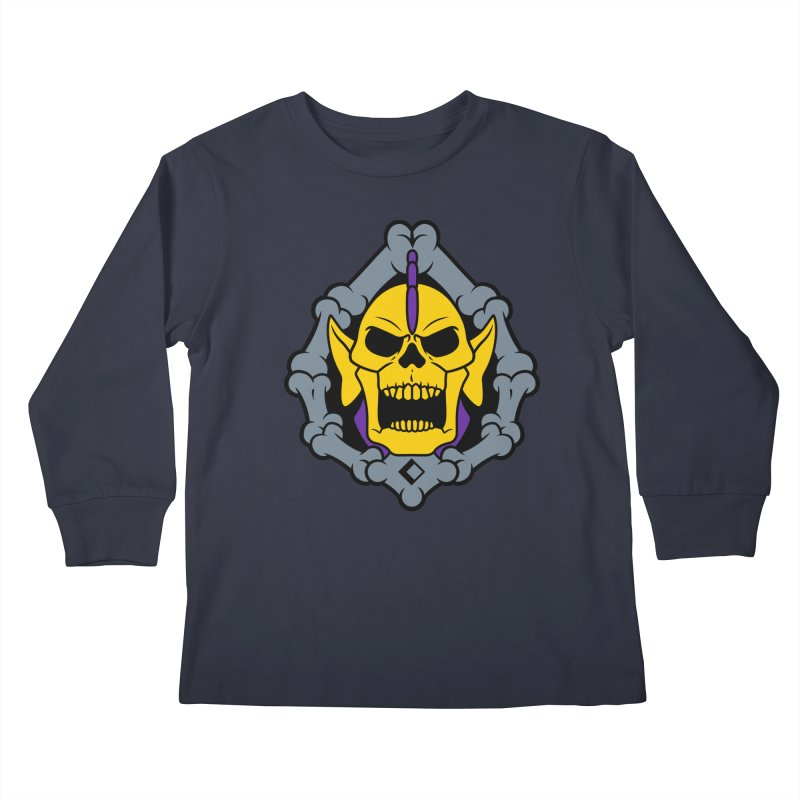Skeldak Kids Longsleeve T-Shirt by Anthony Petrie Print + Product Design