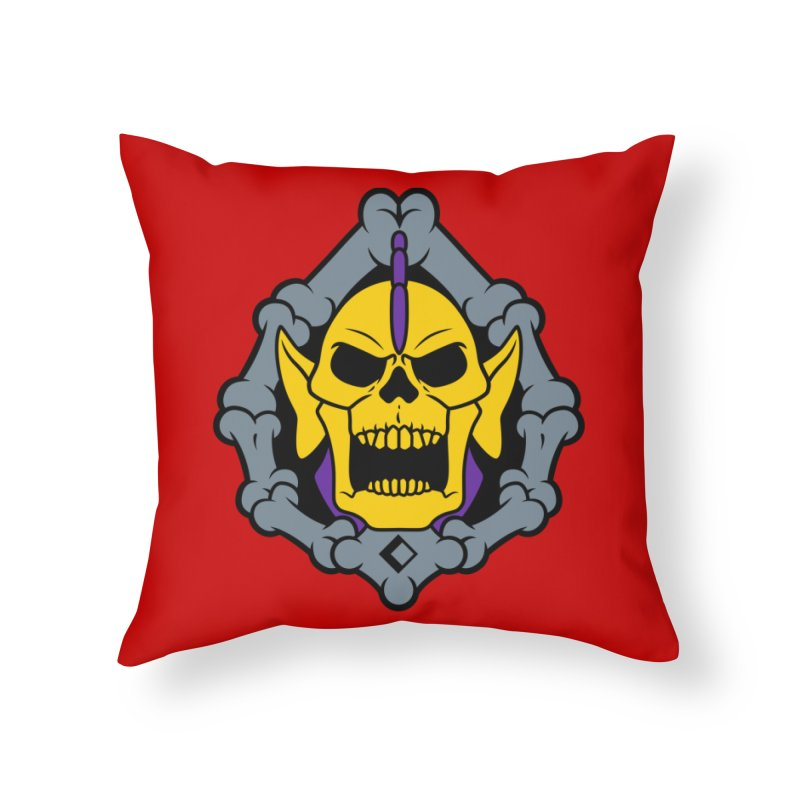 Skeldak Home Throw Pillow by Anthony Petrie Print + Product Design