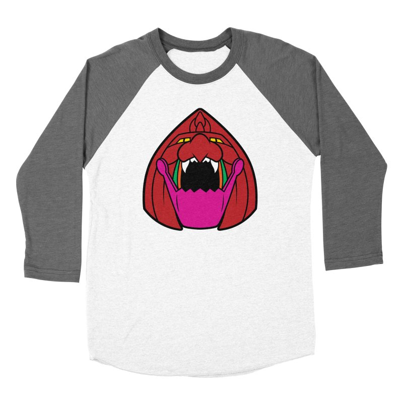 Jaw Cat Women's Baseball Triblend T-Shirt by Anthony Petrie