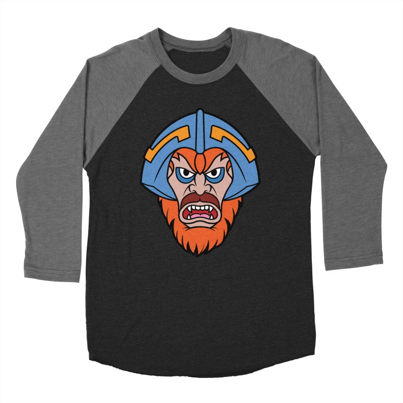 Beast Man-At-Arms Men's Baseball Triblend T-Shirt by Anthony Petrie