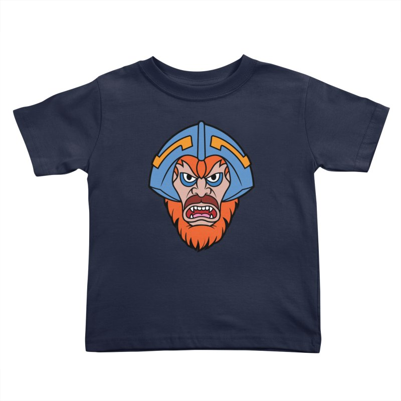 Beast Man-At-Arms Kids Toddler T-Shirt by Anthony Petrie Print + Product Design