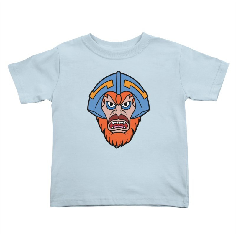 Beast Man-At-Arms Kids Toddler T-Shirt by Anthony Petrie