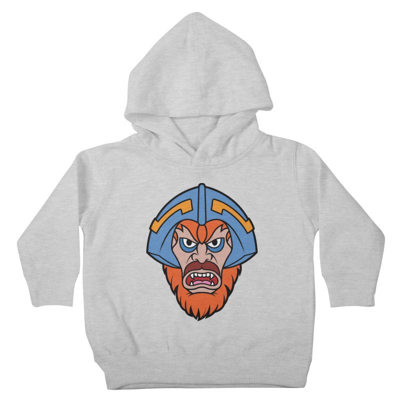 Beast Man-At-Arms Kids Toddler Pullover Hoody by Anthony Petrie Print + Product Design