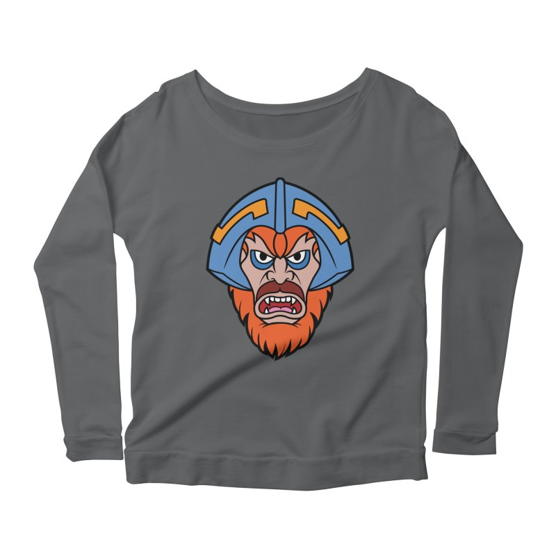 Beast Man-At-Arms Women's Longsleeve Scoopneck  by Anthony Petrie Print + Product Design