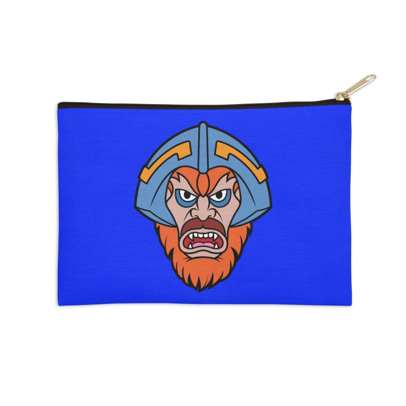Beast Man-At-Arms Accessories Zip Pouch by Anthony Petrie