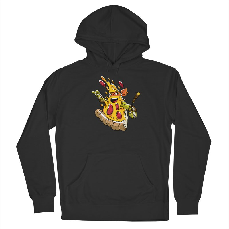 Pizzalangelo Men's French Terry Pullover Hoody by Anthony Petrie Print + Product Design