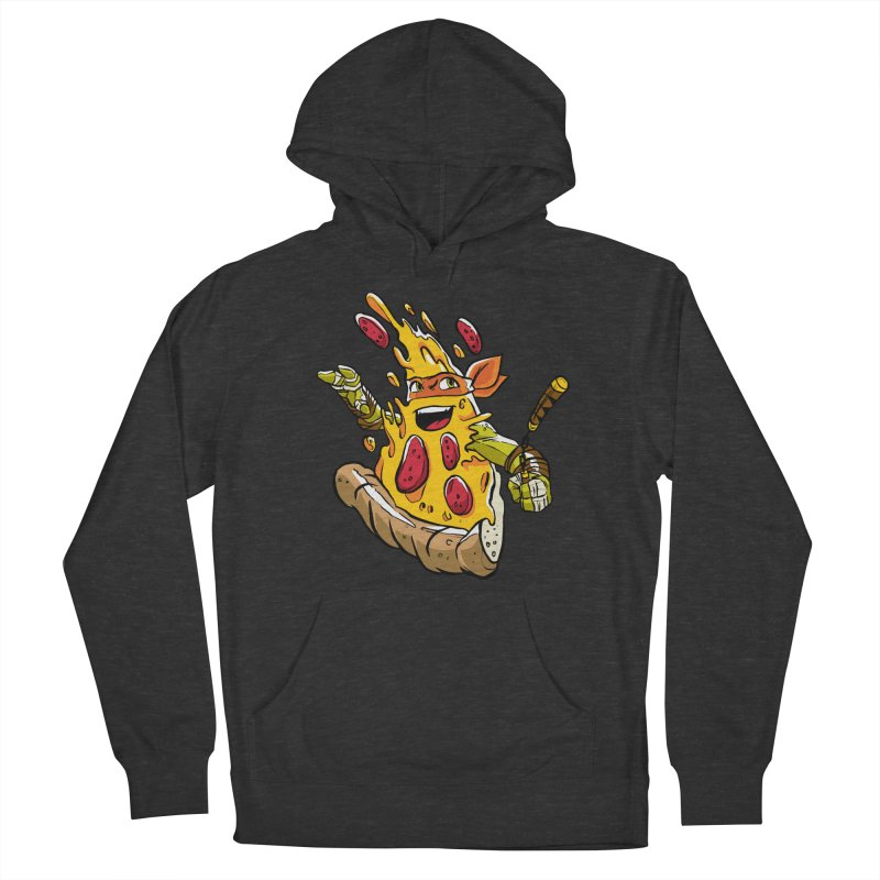 Pizzalangelo Women's French Terry Pullover Hoody by Anthony Petrie Print + Product Design