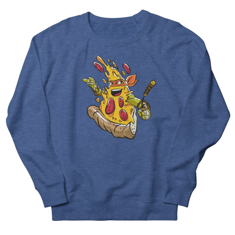Pizzalangelo Women's French Terry Sweatshirt by Anthony Petrie Print + Product Design