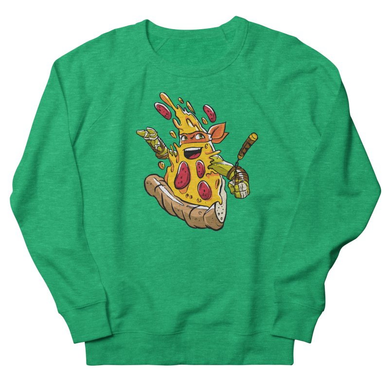 Pizzalangelo Men's French Terry Sweatshirt by Anthony Petrie Print + Product Design