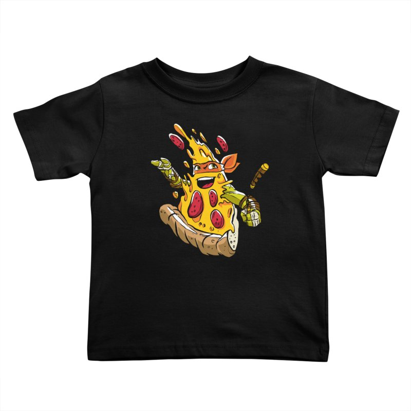 Pizzalangelo Kids Toddler T-Shirt by Anthony Petrie Print + Product Design