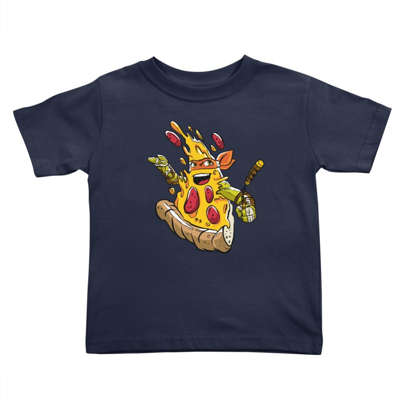 Pizzalangelo Kids Toddler T-Shirt by Anthony Petrie