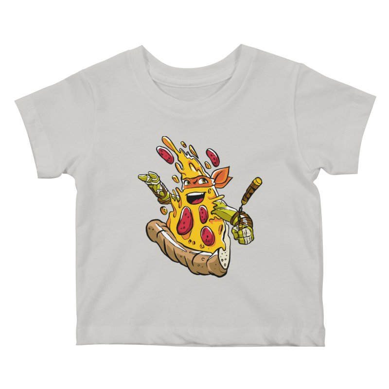Pizzalangelo Kids Baby T-Shirt by Anthony Petrie Print + Product Design