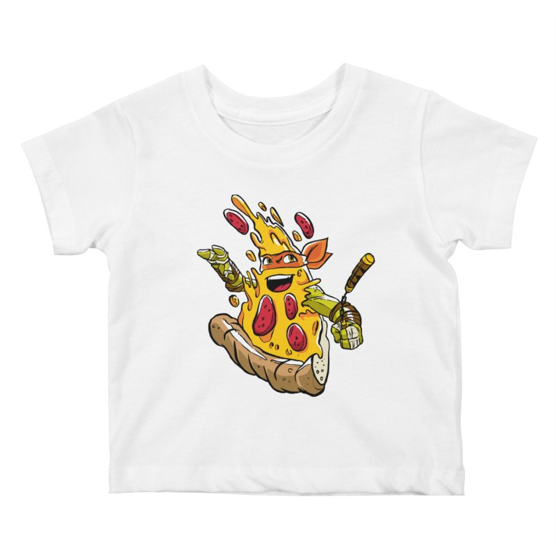 Pizzalangelo Kids Baby T-Shirt by Anthony Petrie