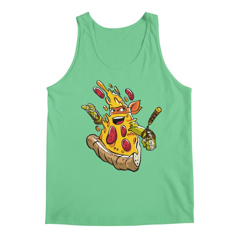 Pizzalangelo Men's Tank by Anthony Petrie Print + Product Design
