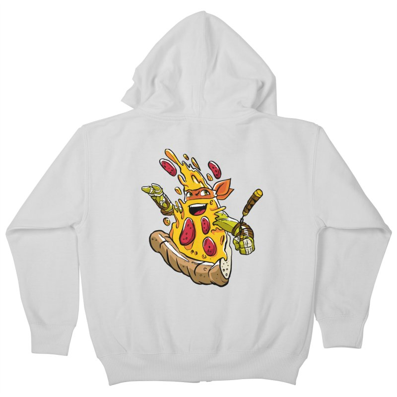 Pizzalangelo Kids Zip-Up Hoody by Anthony Petrie Print + Product Design