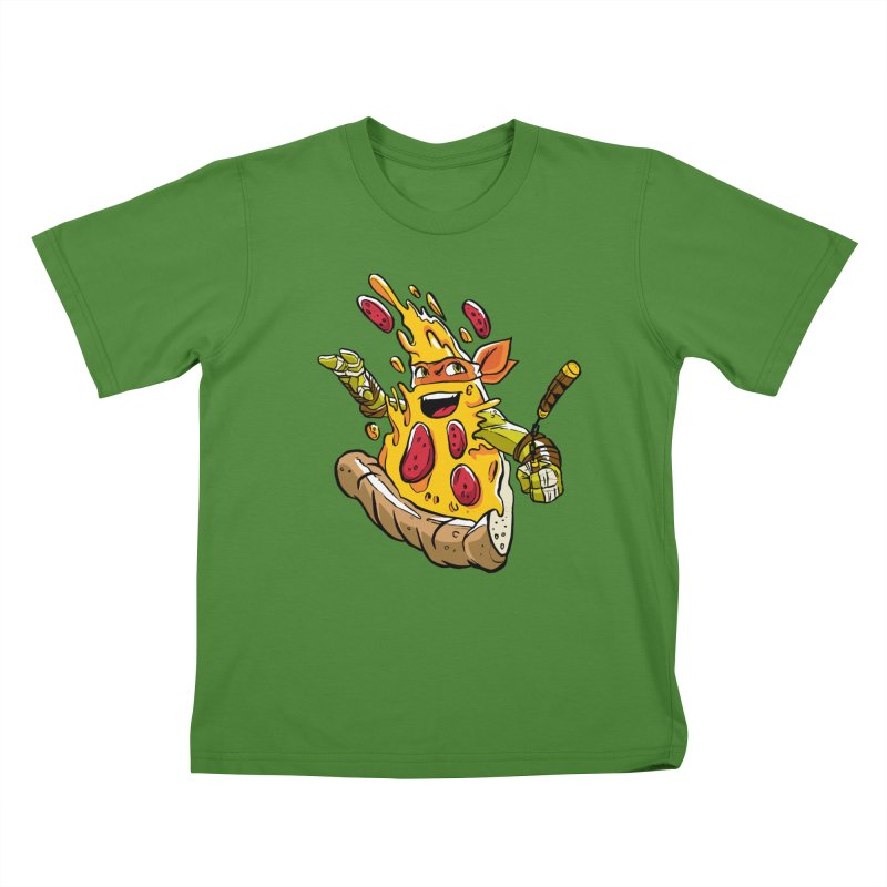Pizzalangelo Kids T-shirt by Anthony Petrie