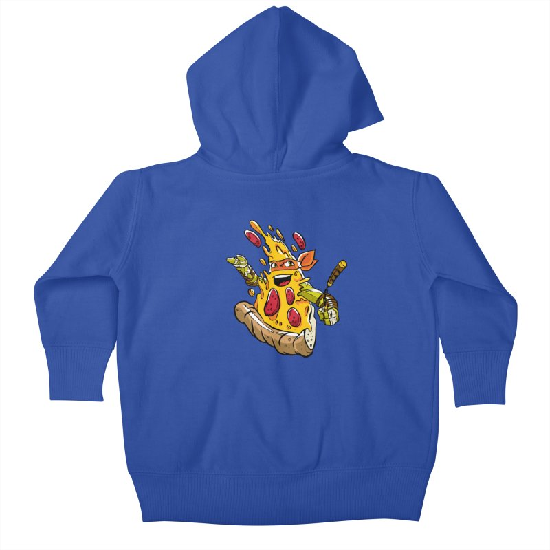 Pizzalangelo Kids Baby Zip-Up Hoody by Anthony Petrie