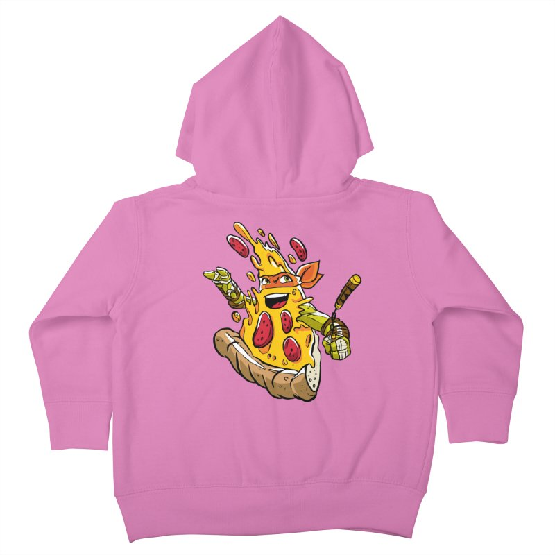 Pizzalangelo Kids Toddler Zip-Up Hoody by Anthony Petrie Print + Product Design