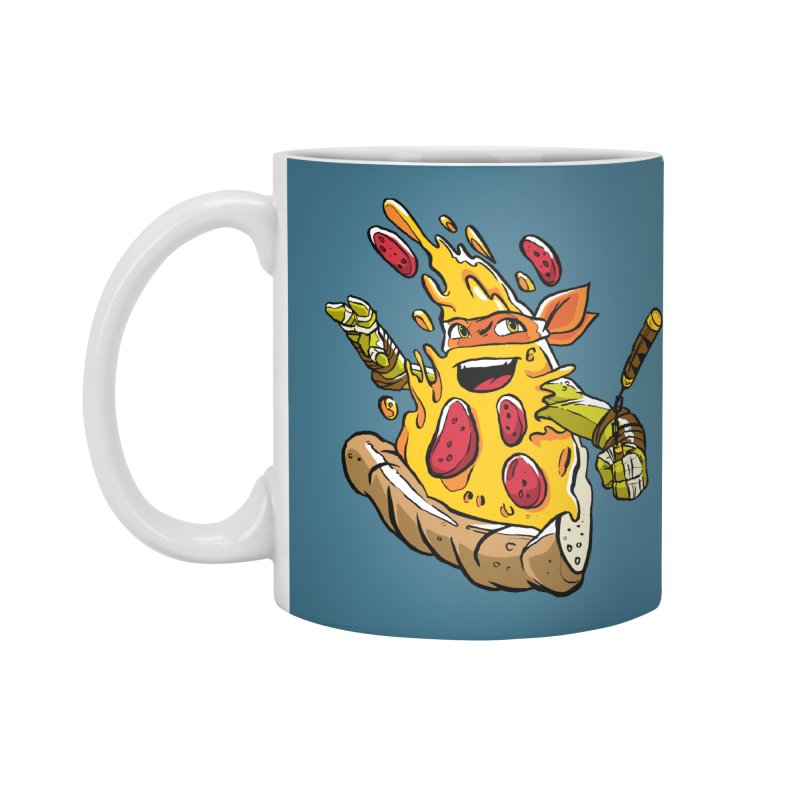 Pizzalangelo Accessories Standard Mug by Anthony Petrie Print + Product Design
