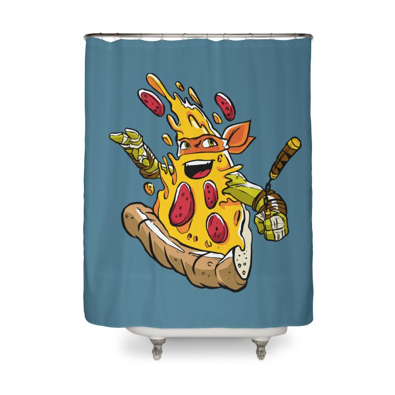 Pizzalangelo Home Shower Curtain by Anthony Petrie Print + Product Design