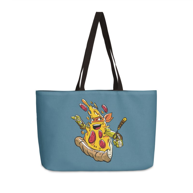 Pizzalangelo Accessories Weekender Bag Bag by Anthony Petrie Print + Product Design