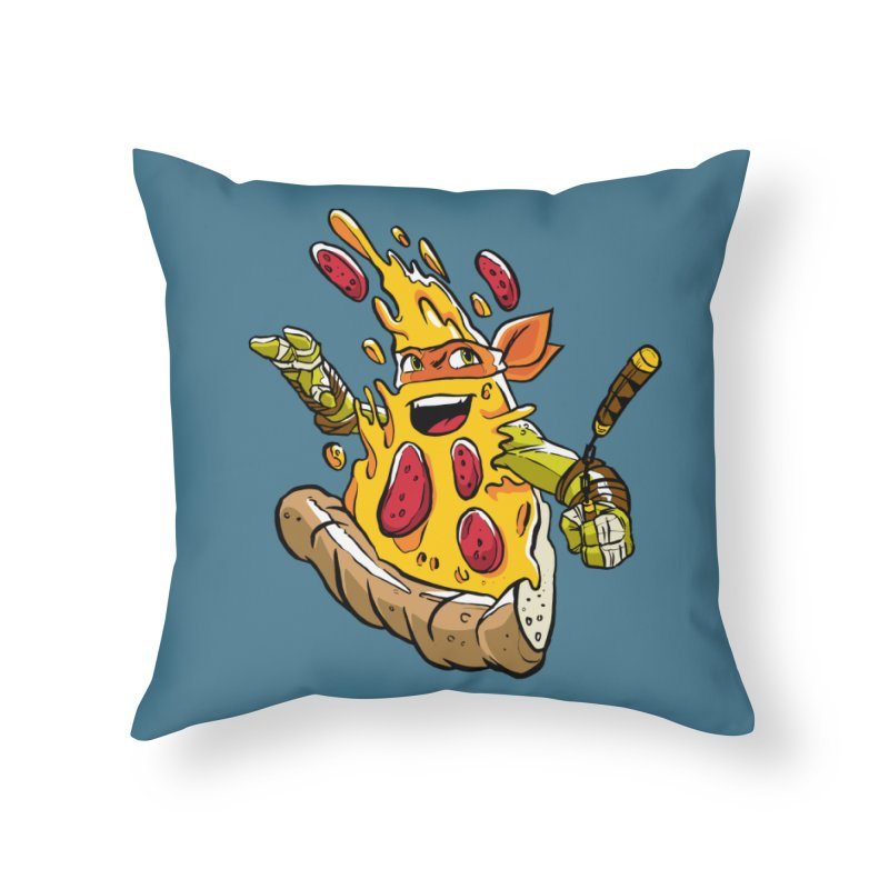 Pizzalangelo Home Throw Pillow by Anthony Petrie Print + Product Design