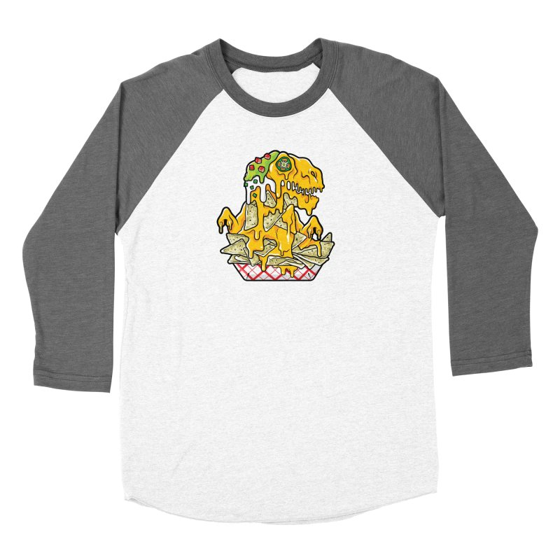 Feast Beasts - Nachosaurus Women's Longsleeve T-Shirt by Anthony Petrie Print + Product Design