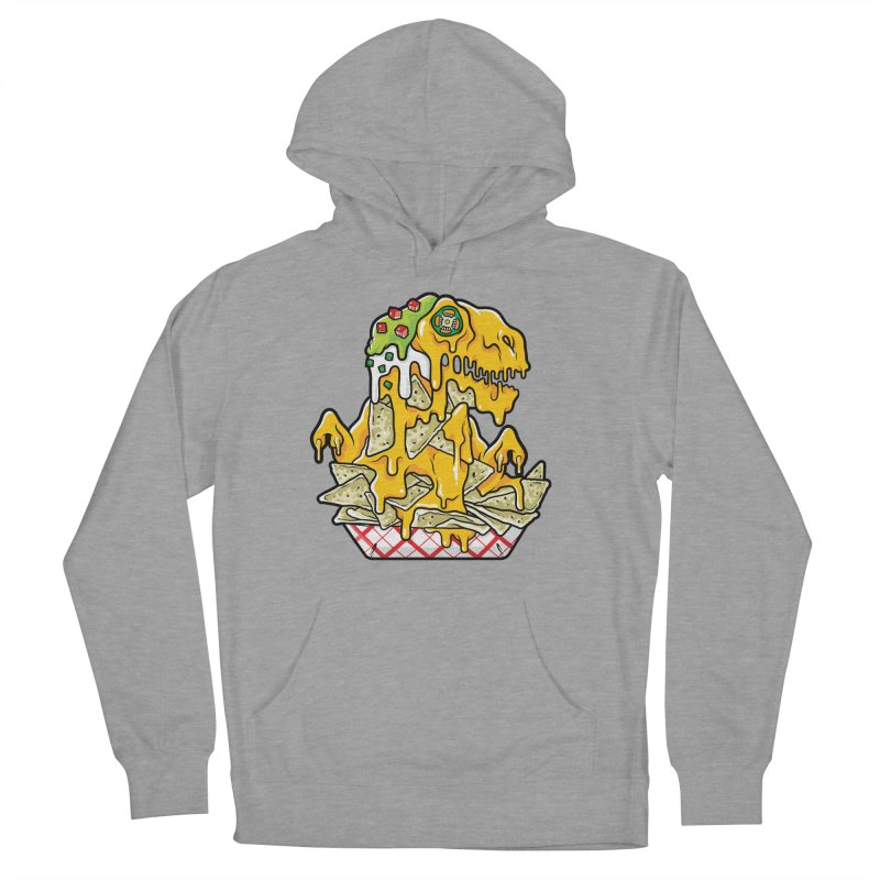 Nachosaurus Women's French Terry Pullover Hoody by Anthony Petrie Print + Product Design