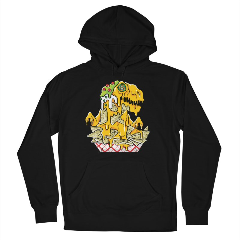 Nachosaurus Men's Pullover Hoody by Anthony Petrie Print + Product Design