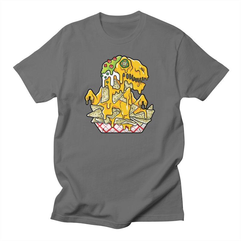 Feast Beasts - Nachosaurus Men's T-Shirt by Anthony Petrie Print + Product Design