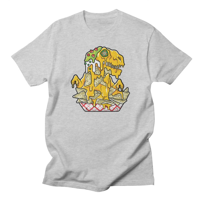 Nachosaurus Men's T-Shirt by Anthony Petrie Print + Product Design