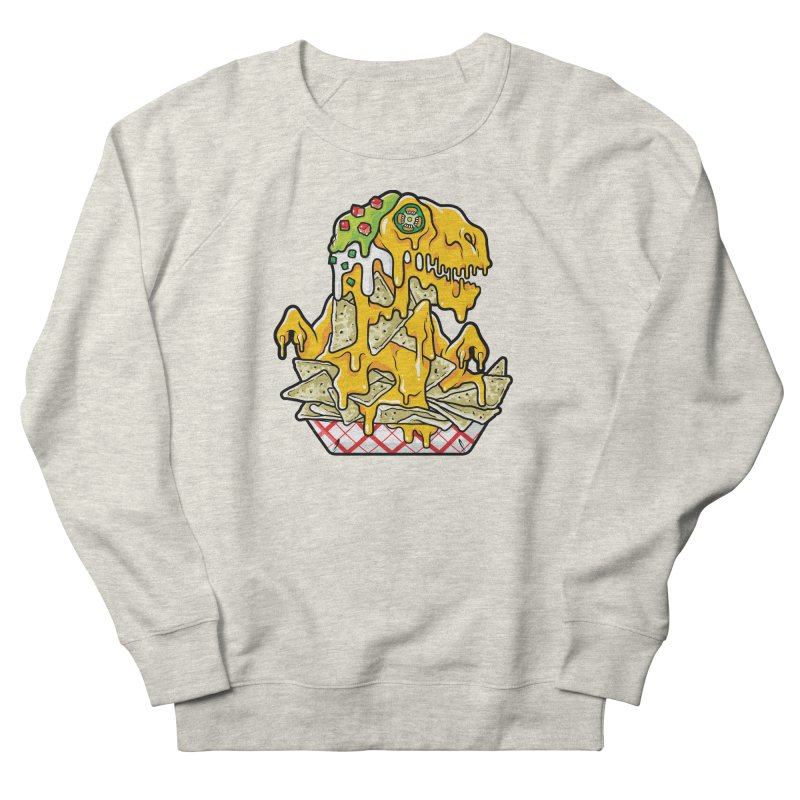 Nachosaurus Women's French Terry Sweatshirt by Anthony Petrie Print + Product Design