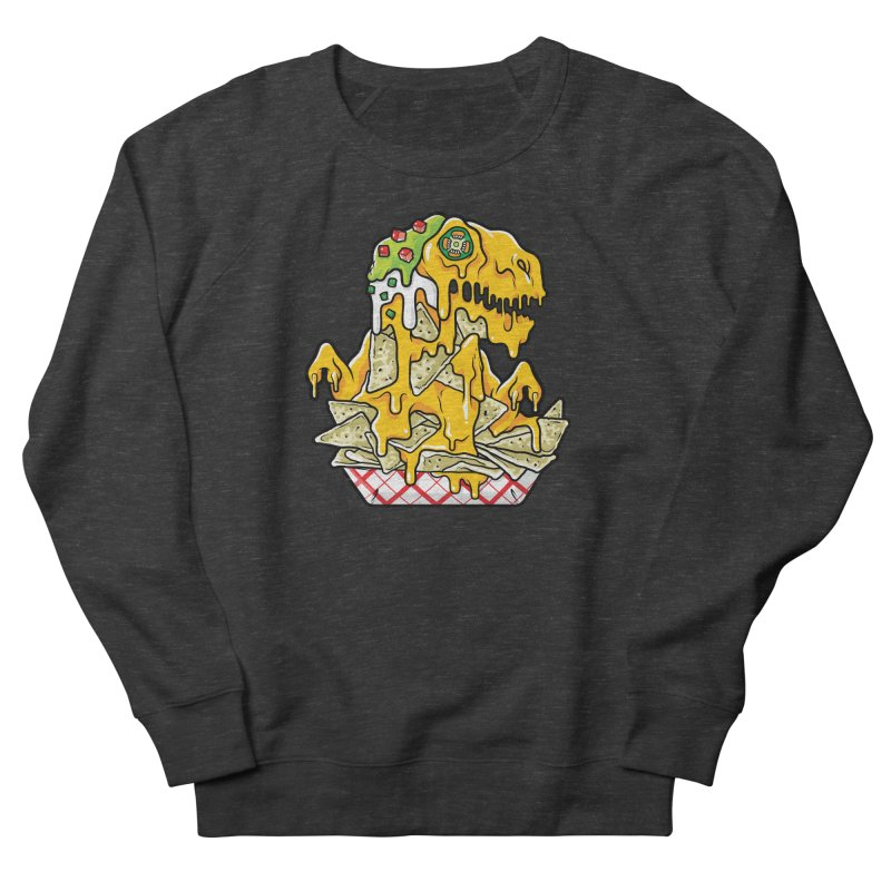 Nachosaurus Men's French Terry Sweatshirt by Anthony Petrie Print + Product Design
