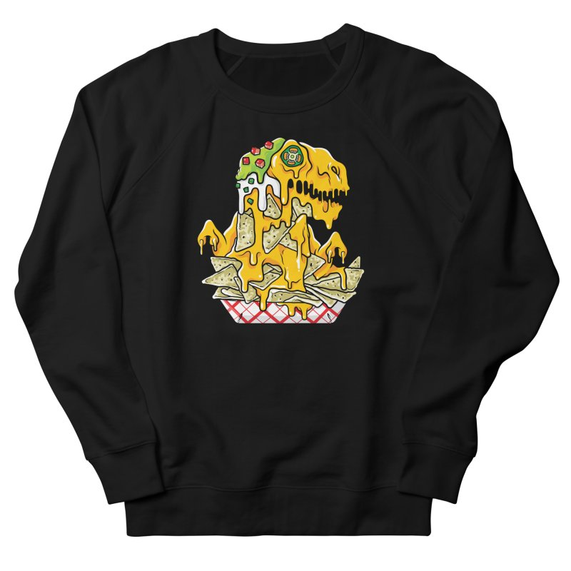 Nachosaurus Men's Sweatshirt by Anthony Petrie Print + Product Design