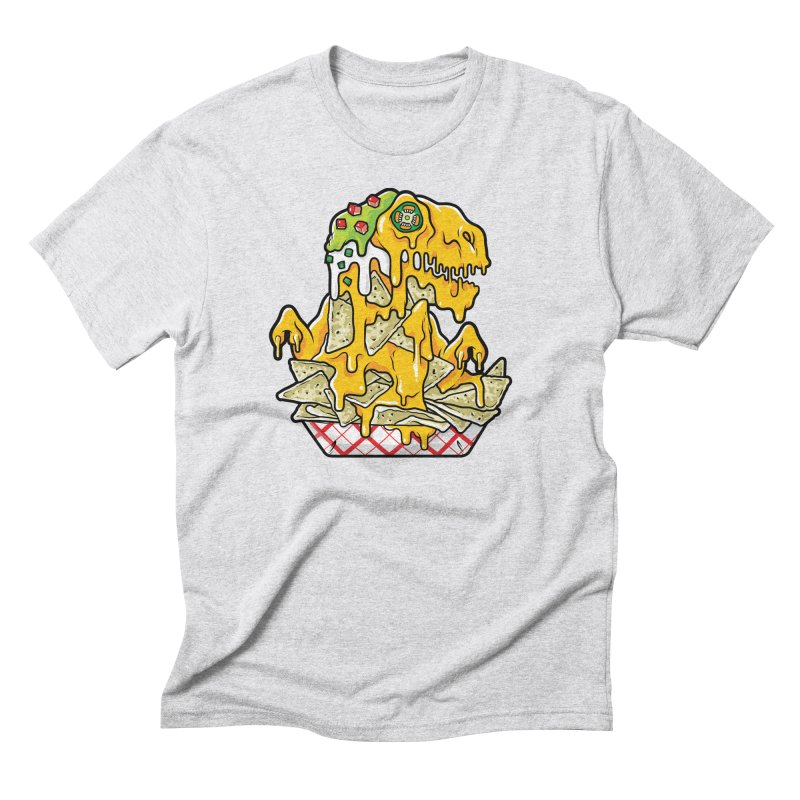 Nachosaurus Men's Triblend T-Shirt by Anthony Petrie Print + Product Design