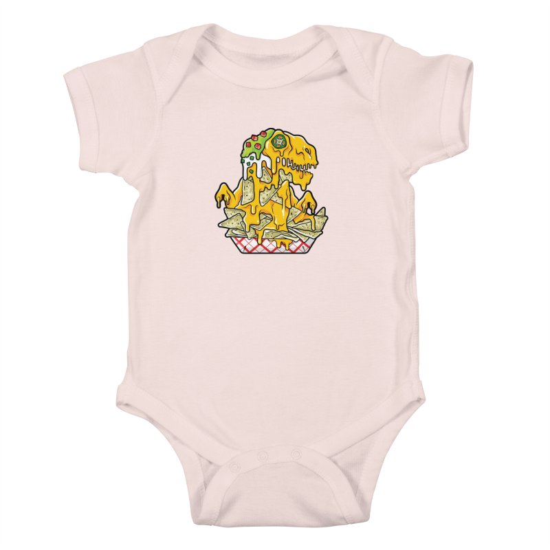 Nachosaurus Kids Baby Bodysuit by Anthony Petrie Print + Product Design