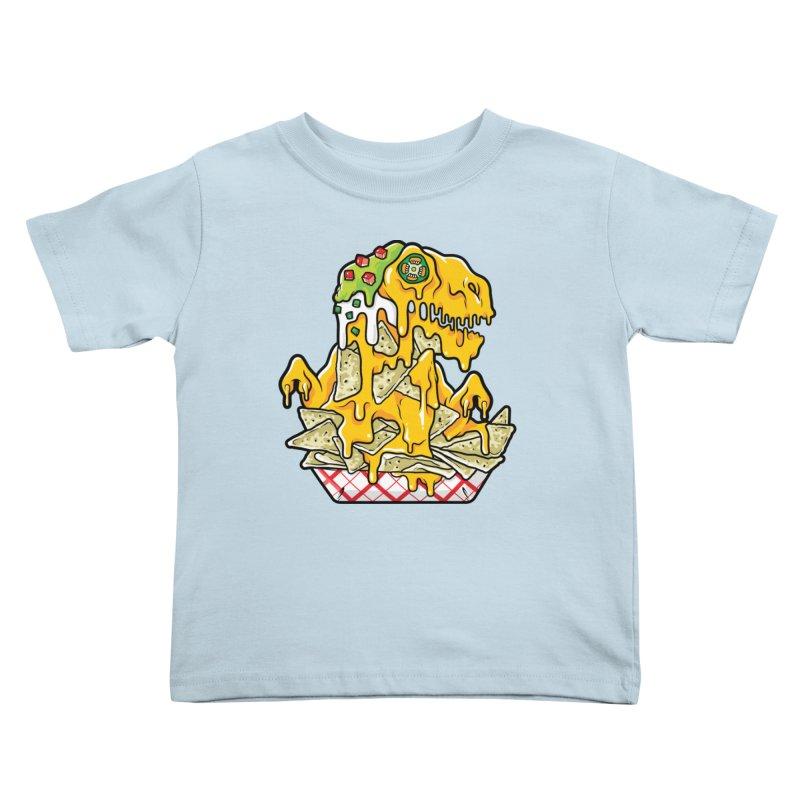 Nachosaurus Kids Toddler T-Shirt by Anthony Petrie Print + Product Design