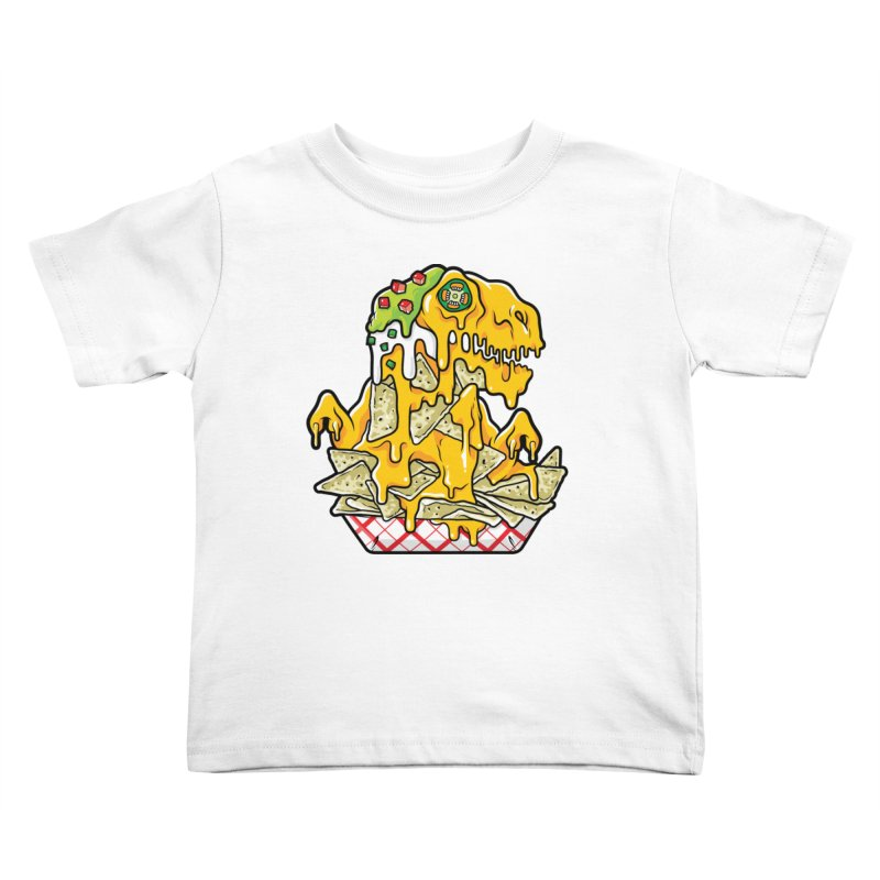 Nachosaurus Kids Toddler T-Shirt by Anthony Petrie Print + Product Design