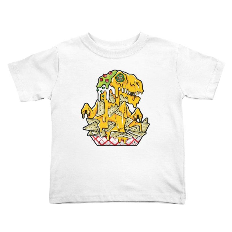 Nachosaurus Kids Toddler T-Shirt by Anthony Petrie