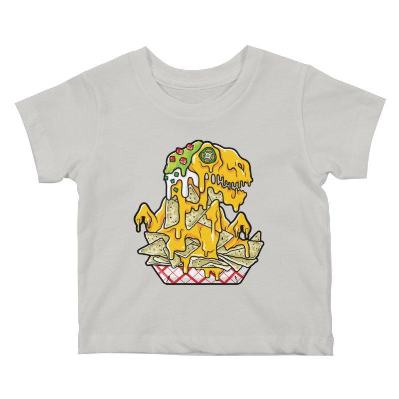 Nachosaurus Kids Baby T-Shirt by Anthony Petrie Print + Product Design