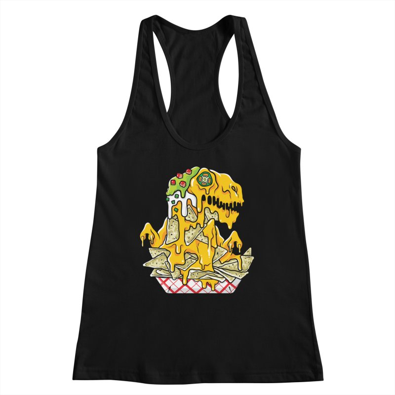 Feast Beasts - Nachosaurus Women's Tank by Anthony Petrie Print + Product Design